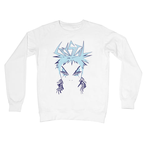 Crystal Official Ice Blue Crew Neck Sweatshirt