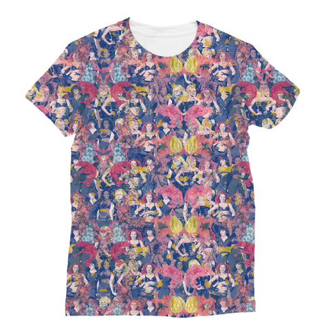 Floral Spice Women's Fashion Tee