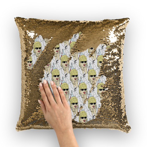 Sweetie Stolli - Robski X Binge Sequin Cushion Cover