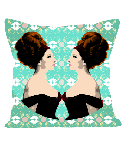 Classic Barbara Fashion Pillow