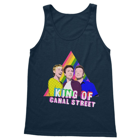 Queer as Folk - Canal Street Softstyle Tank Top