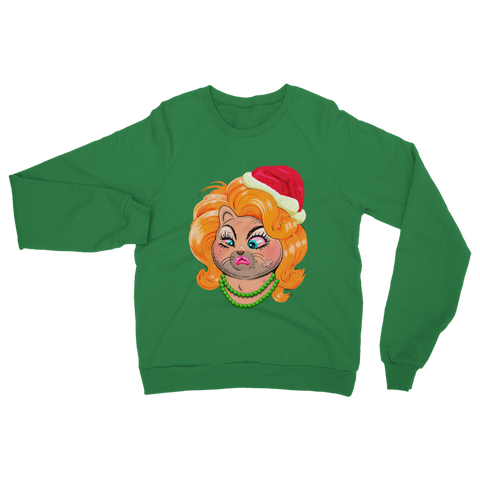 Drag Cat Christmas- Binge X Jock Mooney Sweatshirt