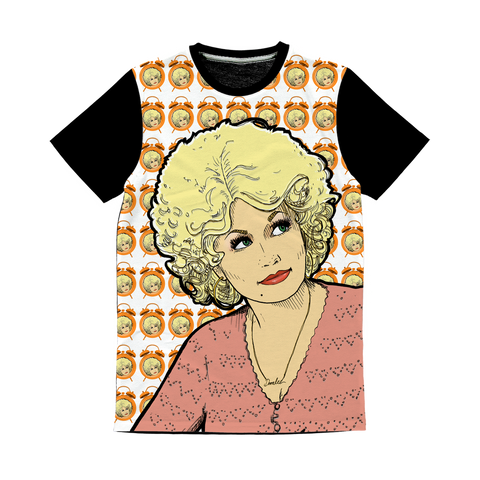 Dolly Mix 9 to 5 - XWayneDidIt Baseball Tee
