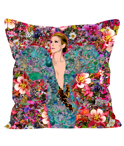 Celine Flowers Sofa Cushion