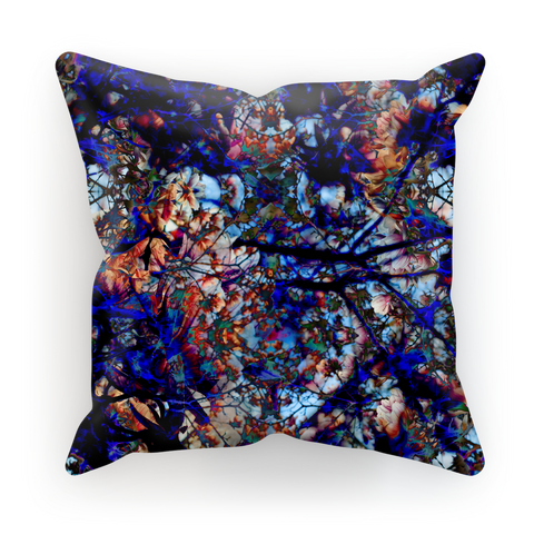 Black Orchid Cushion Cover