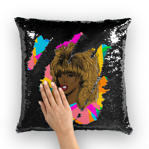 Tina - X WayneDidIt Sequin Cushion Cover