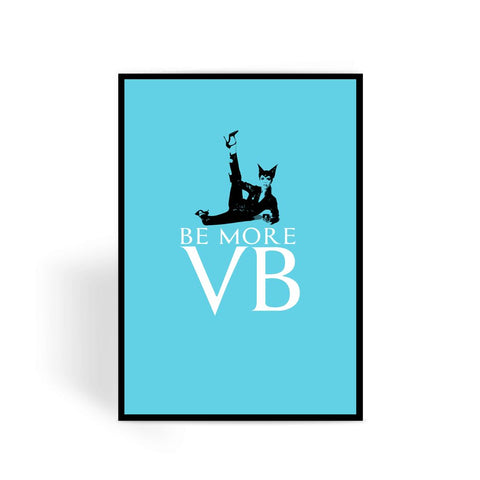 Vicky B Iconic Vogue Greeting Card