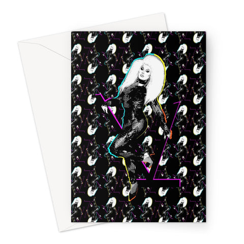 The Vivienne X Binge Fierce Greeting Card