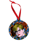 Mrs. Peacock - Clue Ornament