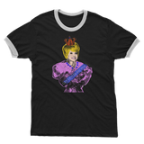 Peggy Mitchell - Get Out of My Pub Adult Ringer T-Shirt