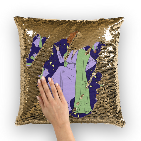 Mother Witch - Robski X Binge Sequin Cushion Cover