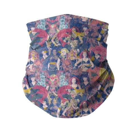 Spice Floral Fashion Neck Gaiter (Face Covering)