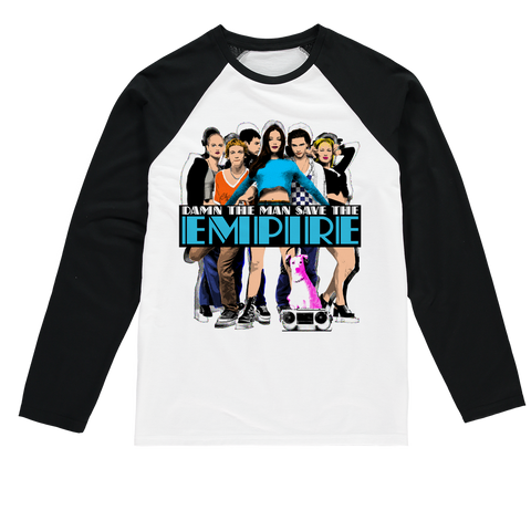 Empire Records - 90s Sublimation Baseball Long Sleeve T-Shirt