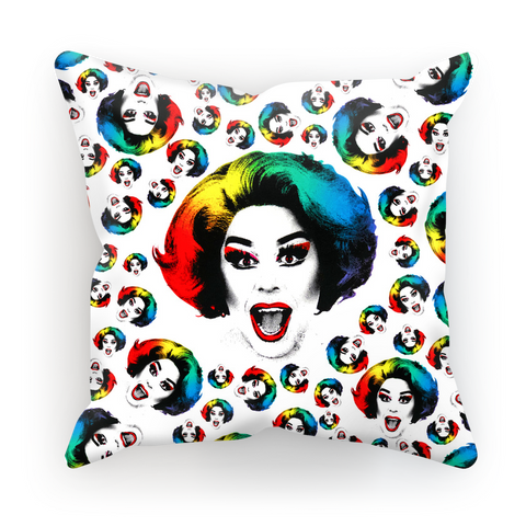 La Voix X Binge Multi Pride Cushion Cover