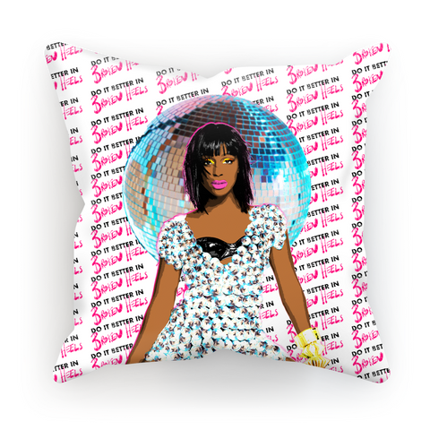 Alexandra Burke - Heels Cushion Cover