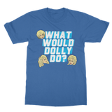 What Would Dolly Do? - XWayneDidIt Classic Adult T-Shirt