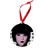 Mrs. White - Clue Ornament