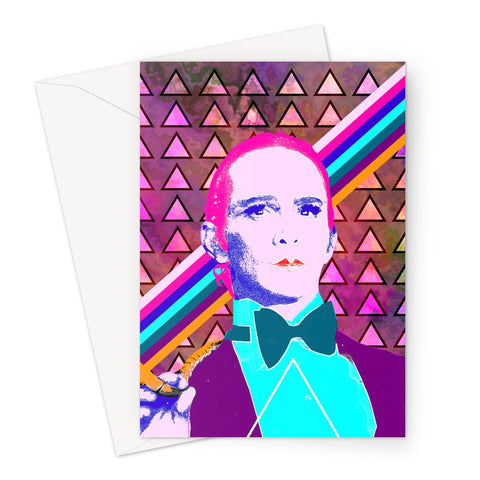 Cabaret Emcee Greeting Card