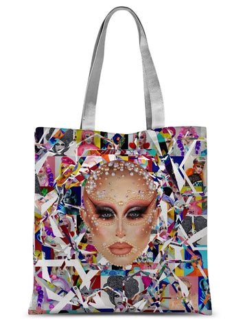 Blu Hydrangea X Binge - GCSE Pearls Sublimation Tote Bag
