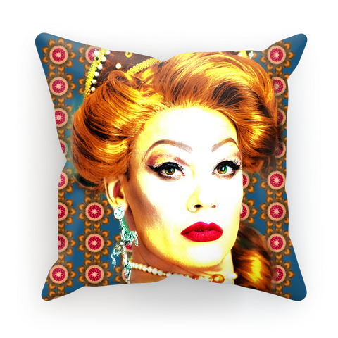 Mad Drag 2018 - Turquoise Sublimation Cushion Cover