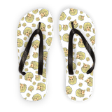 Dolly Mix Whorehouse Plain - XWayneDidIt Adult Flip Flops