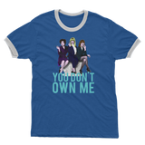 "First Wives Club ""You Don't Own Me"" Adult Ringer T-Shirt"