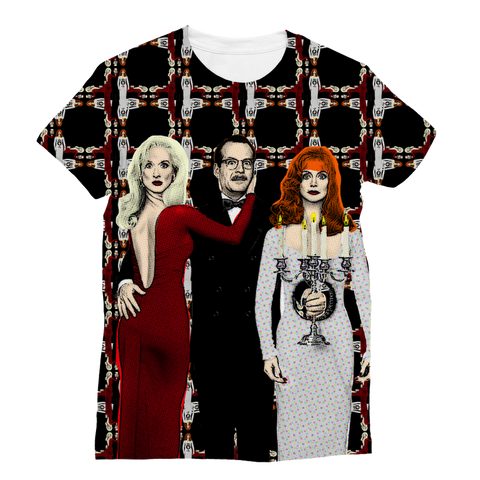 Death Becomes Her Women's Fashion Tee