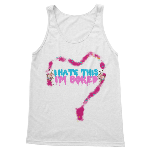 I'm Bored (Limited Edition) Classic Adult Vest Top