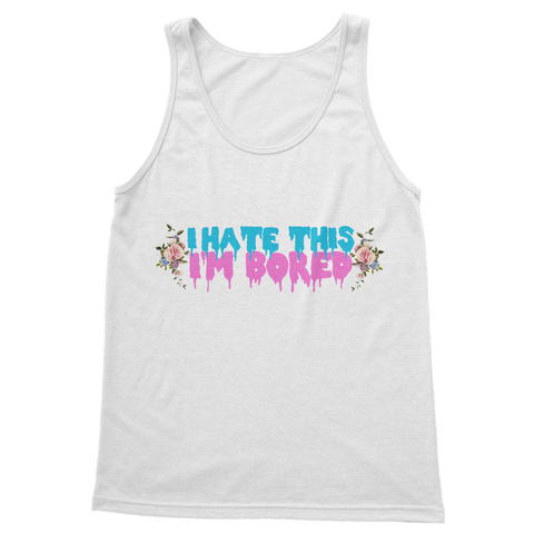 I Hate This. I'm Bored. Classic Adult Vest Top