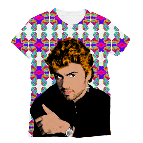George Michael Classic Sublimation Women's T-Shirt