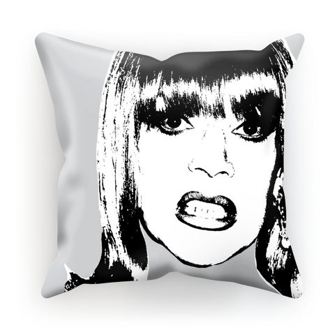 That Bothers Me B&W - Miss Coco Peru X Binge Cushion Cover