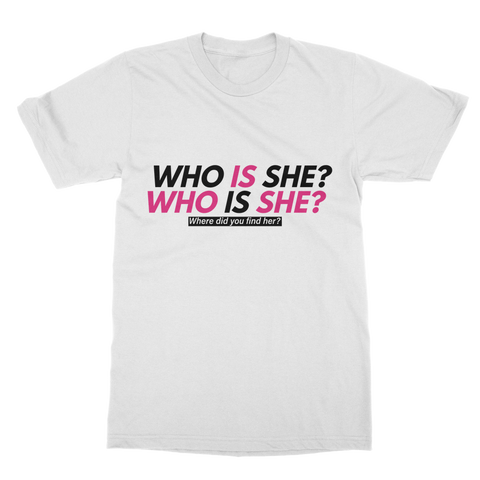Big Brother - Nikki Who Is She? Classic Adult T-Shirt