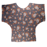 Coco Puff (Blue) - Miss Coco Peru X Binge (Limited Edition) Sublimation Batwing Top