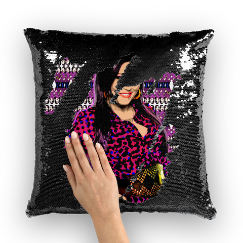Kat Slater Sequin Cushion Cover