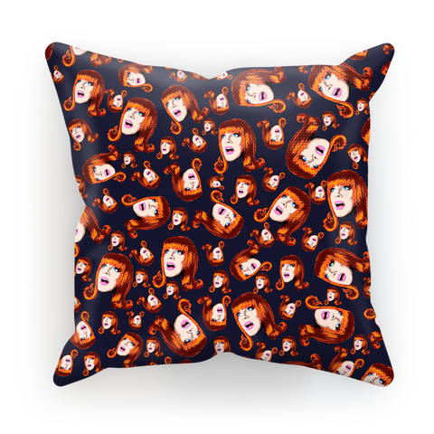 Coco Puff (Blue) - Miss Coco Peru X Binge (Limited Edition) Cushion Cover