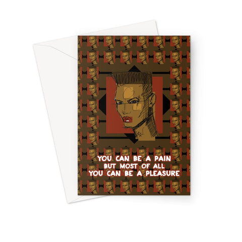 Grace - X WayneDidIt Greeting Card