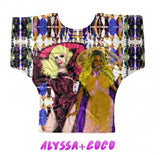 Drag Race All Stars - Mix & Match Fashion Batwing Tees