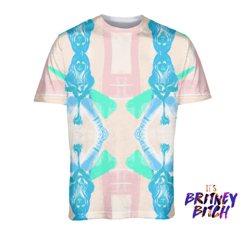 Britney: Overprotected Fashion Tee Peach