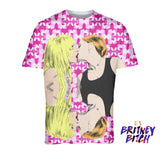 Britney: Like a Virgin Fashion Tee (Hot Pink)