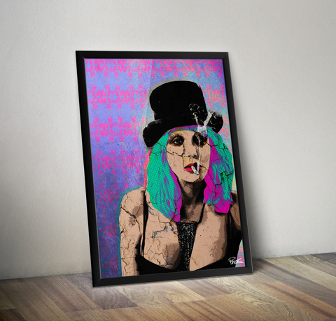 Courtney Love - Bad Bitches Art Print (Limited Edition)