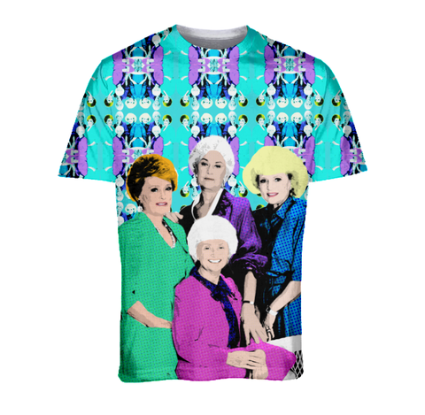"TV Queens - Golden Girls ""Squad Goals"" Fashion Tee V2"
