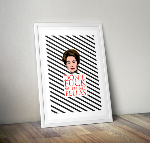 Feud - Joan Art Print