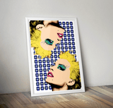 Kylie - Pop Art Print
