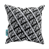 "Nighty Night - Jill Tyrell ""Hiya Cath"" Throw Pillow"