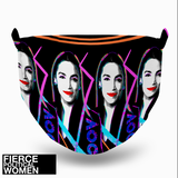 Fierce Political Women - AOC Face Mask