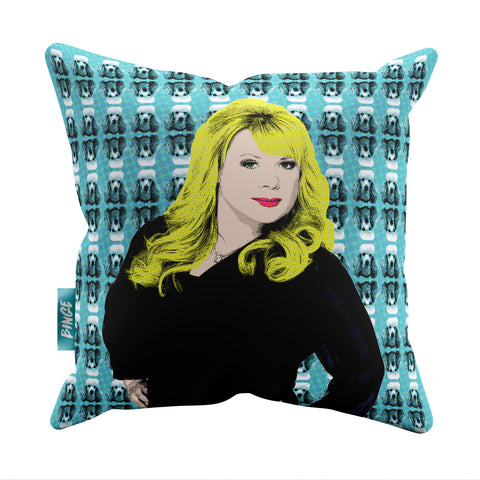 Soap Queens - Sharon Eastenders Throw Pillow