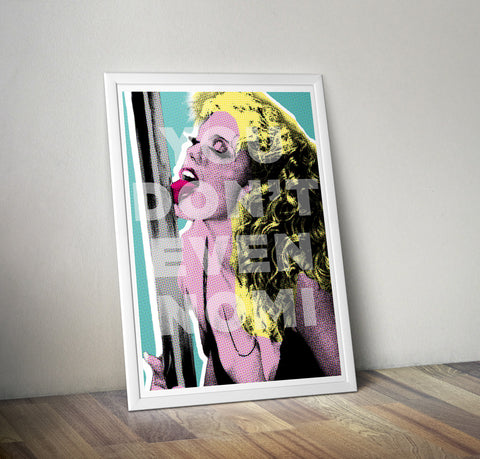 """You Don't Nomi"" Showgirls Art Print"