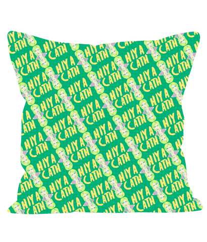 "Nighty Night - Jill Tyrell ""Hiya Cath"" Pillow"