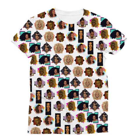 Diva Icons (Limited Edition) - X WayneDidIt Women's Fashion Tee