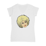 Dolly Mix 9 to 5 - XWayneDidIt Classic Women's V-Neck T-Shirt
